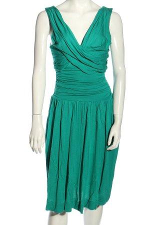 French Connection Mini vestido verde elegante