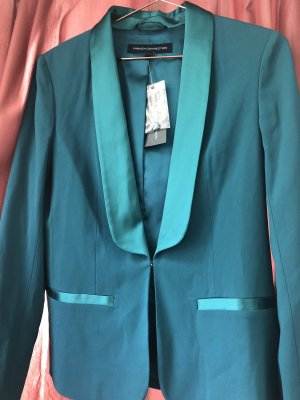 French Connection Tuxedo Blazer cadet blue-petrol