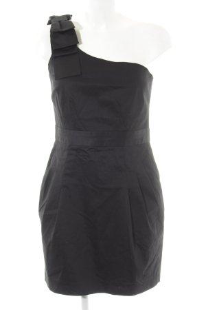 French Connection One-Shoulder-Kleid schwarz Elegant
