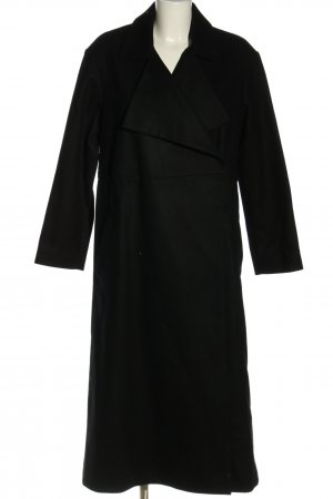 French Connection Oversized Mantel schwarz Business-Look