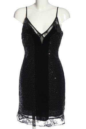 French Connection Sequin Dress black elegant