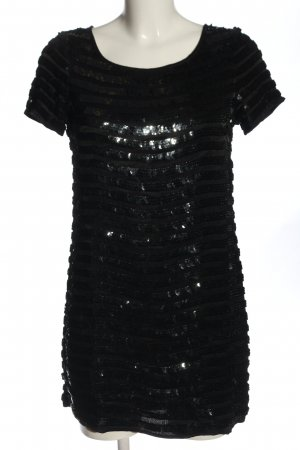 French Connection Vestido de lentejuelas negro elegante