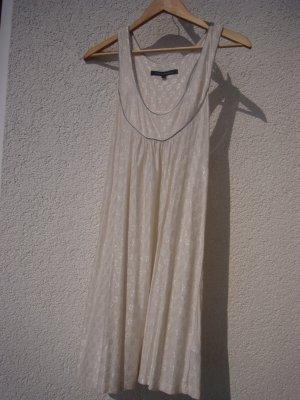 French Connection Partykleid nude Vintage Stil Größe M