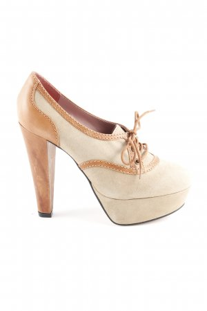 French Connection Plateau-Pumps braun-camel