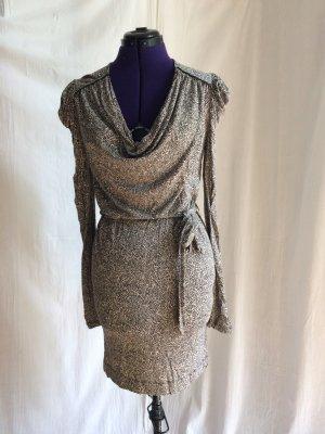 French Connection raffiniertes Kleid mit Wasserfallausschnitt