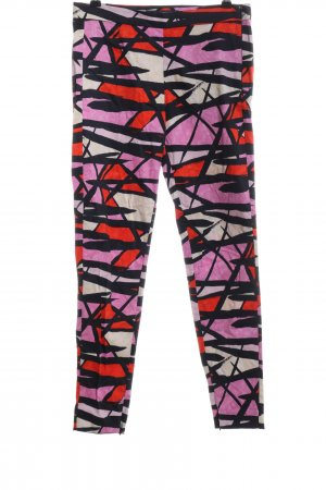 French Connection Drainpipe Trousers graphic pattern casual look