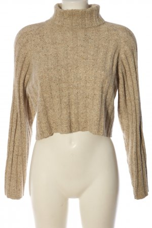French Connection Rollkragenpullover creme meliert Casual-Look