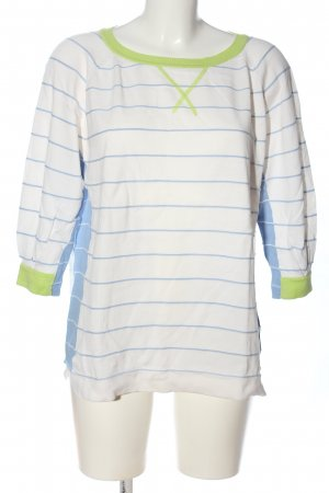 French Connection Rundhalspullover Streifenmuster Casual-Look