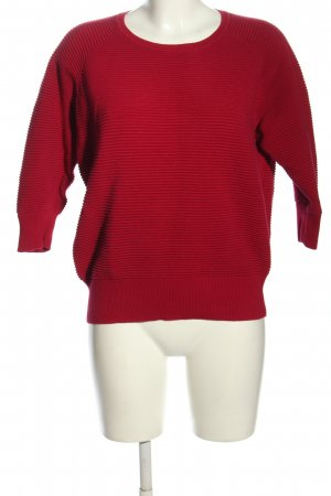French Connection Rundhalspullover rot Casual-Look