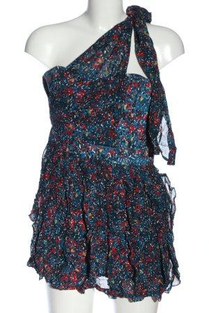 French Connection Schlupf-Bluse abstraktes Muster extravaganter Stil