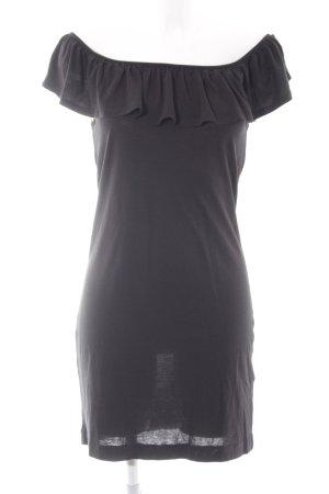 French Connection schulterfreies Kleid schwarz Elegant
