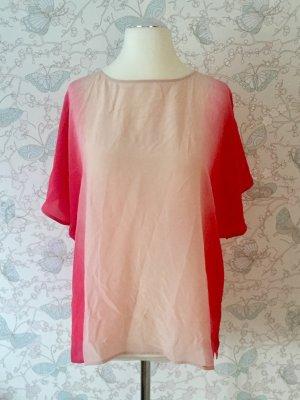 French Connection Seiden-Shirt, rosé-pink, Gr. 42 (UK 14) Neu