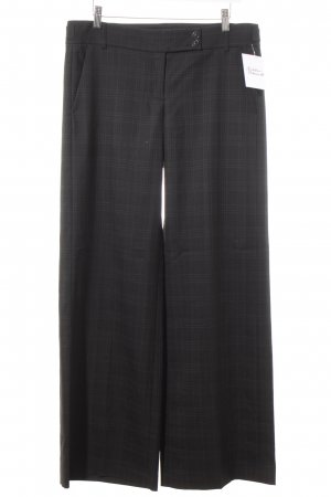 French Connection Jersey Pants black check pattern