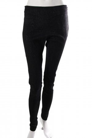 French Connection Fabric Trousers Black With Imprint
