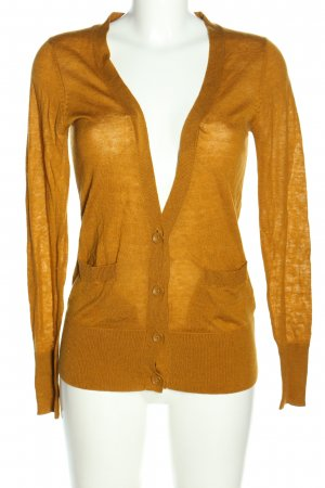 French Connection Strick Cardigan hellorange Casual-Look