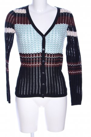 French Connection Strickjacke Allover-Druck Casual-Look