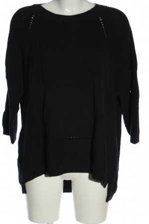 French Connection Knitted Sweater black casual look