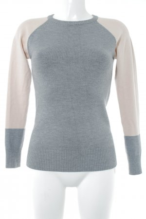 French Connection Strickpullover grau-nude Casual-Look