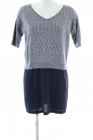 French Connection Strickshirt blau-hellgrau meliert Casual-Look