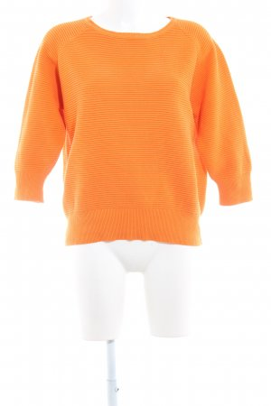 French Connection Sweatshirt hellorange Casual-Look
