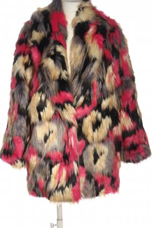 French Connection Winter Coat allover print casual look