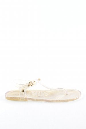 French Connection Zehentrenner-Sandalen creme Casual-Look