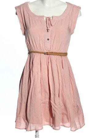 Fresh made Blusenkleid pink Casual-Look