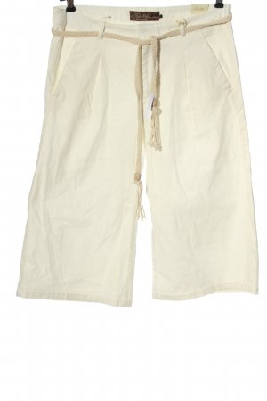 Fresh made 3/4 Length Trousers natural white casual look