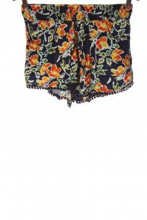 Fresh made Hot pants stampa integrale stile casual