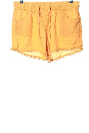 Fresh made Hot Pants hellorange Casual-Look