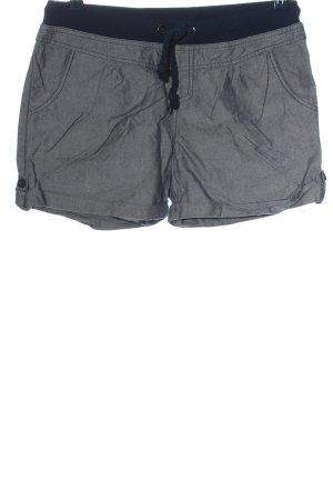 Fresh made Hot Pants hellgrau-blau Casual-Look
