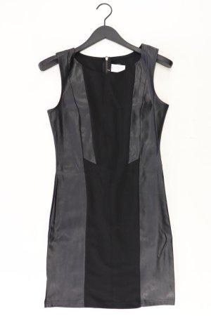 Fresh made Sukienka z imitacji skóry czarny