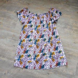 Fresh made Sukienka mini Wielokolorowy Wiskoza