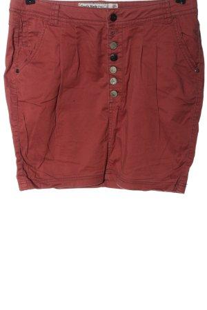 Fresh made Spódnica mini czerwony W stylu casual