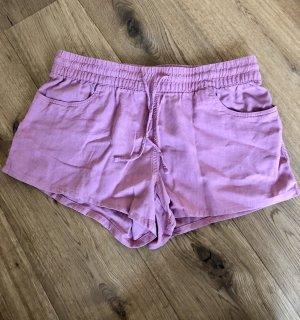 Fresh Made Shorts Koralle rosa XL mit Leinen