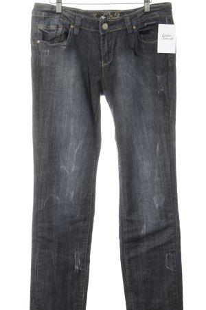 Fresh made Slim Jeans dunkelblau Casual-Look