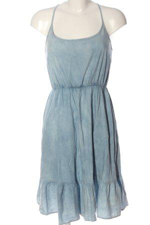 Fresh made Abito scamiciato blu stile casual