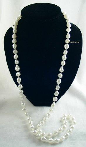 Modeschmuck Pearl Necklace white