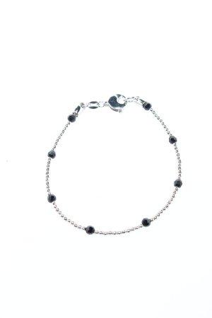 Freudenschmuck by Excessories Bracelet en argent noir-argenté élégant