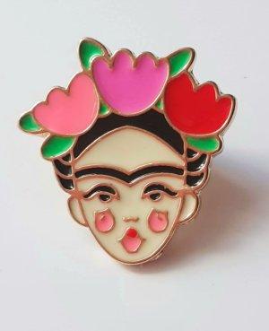 Frida Kahlo Pin, Brosche, Button