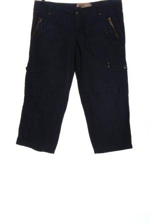 Friday 3/4-broek zwart casual uitstraling