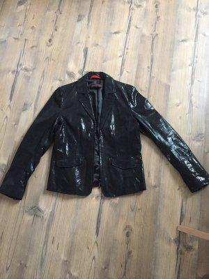 Frieda & Freddies New York Leather Blazer black