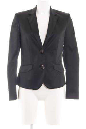 Frieda & Freddies New York Kurz-Blazer schwarz Business-Look