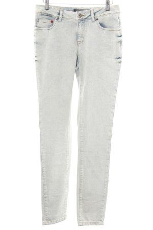 Frieda & Freddies New York Skinny Jeans wollweiß-blau Casual-Look