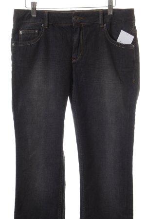 Frieda & Freddies New York Straight-Leg Jeans dunkelgrau Casual-Look