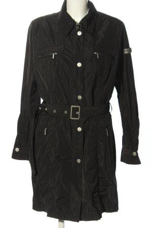 Frieda & Freddies New York Trenchcoat schwarz Casual-Look