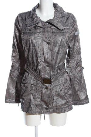 Frieda & Freddies New York Übergangsjacke silberfarben-schwarz Casual-Look