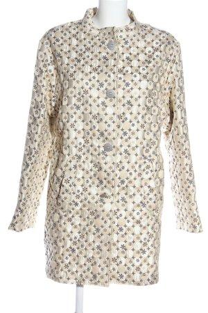 Frieda & Freddies New York Between-Seasons-Coat cream flower pattern casual look