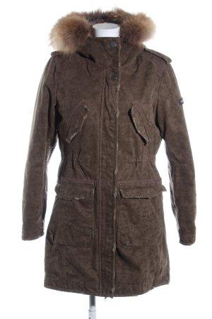 Frieda & Freddies New York Winter Coat brown flecked casual look