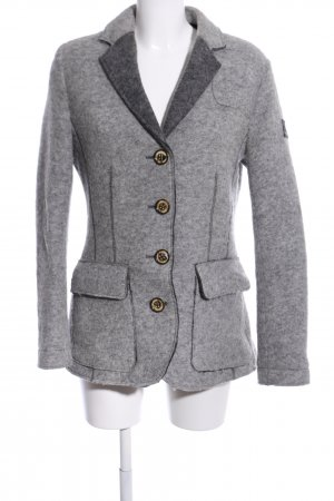 Frieda & Freddies New York Woll-Blazer hellgrau meliert Street-Fashion-Look